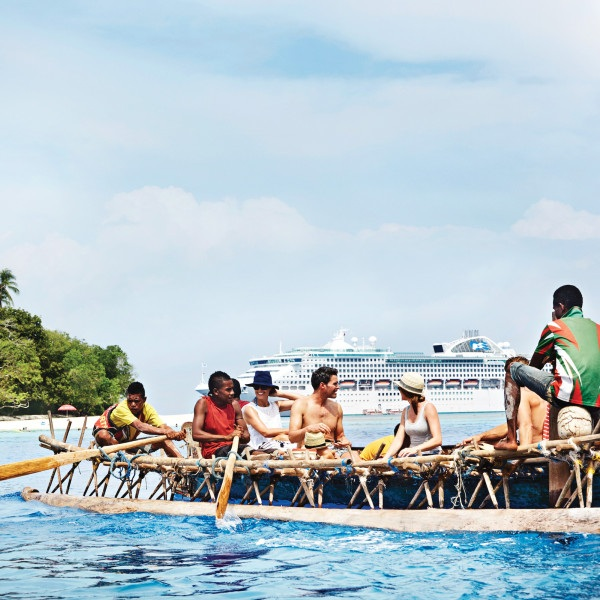 SOUTH PACIFIC CRUISES - There's more than one paradise to be found on a cruise to the South Pacific. It's where hidden jewels like
