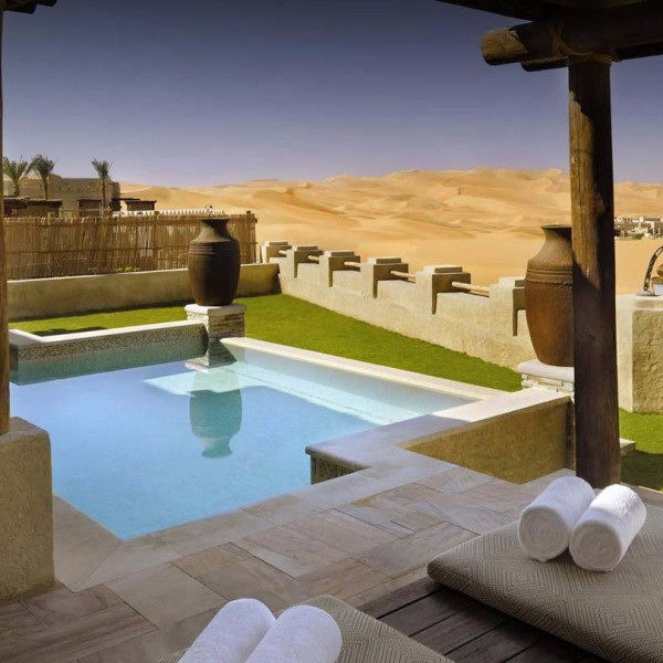 QASR AL SARAB DESERT RESORT BY ANANTARA - Abu Dhabi - United Arab EmiratesIn the heart of the Empty Quarter, here you can go dune bashing or cross the endless desert on a camel, experience ancient healing rituals or spa elixirs, or simply marvel at the expanse of dunes – sure to calm the soul and deepen the gratitude.