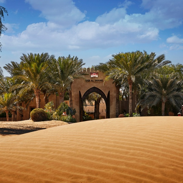 BAB AL SHAMS DESERT RESORT & SPA - This tranquil oasis in the dunes has an ecosystem rich with diverse wildlife – geckos, vibrant birds, graceful gazelles – and its combination of rugged beauty with comfort will become your happy place!