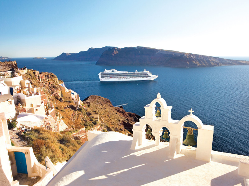 MEDITERRANEAN GREEK & ITALIAN CRUISES - Ancient ruins recall the once-powerful empires that ruled this legendary region. Stand atop the Acropolis in Athens, wander the Colosseum in Rome, or walk the haunting streets of Pompeii. Step back in time in Dubrovnik's walled Old Town, or relax on the sun-kissed shores of the Greek Isles. Magical Venice holds an allure all its own, while Barcelona and Florence beckon with timeless treasures.