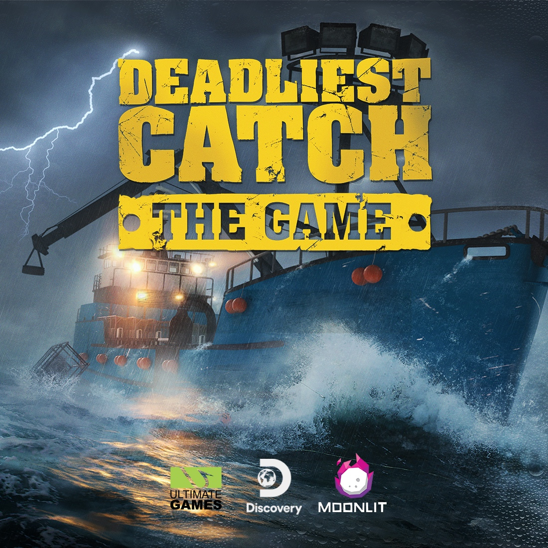 DEADLIEST CATCH: THE GAME - Enter the dangerous world of king crab fishing in the deadly Bering Sea! Take command of your own fishing vessel, use realistic equipment, combat hazardous Alaskan waters and become the world's best crab catcher!