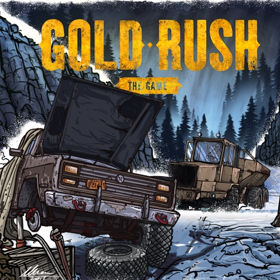 GOLD RUSH: THE GAME - Become a gold miner. Work hard, dig deep, explore the world, and you'll become the wealthiest person in Alaska. Use a variety of specialist machines to find as much gold as you can.