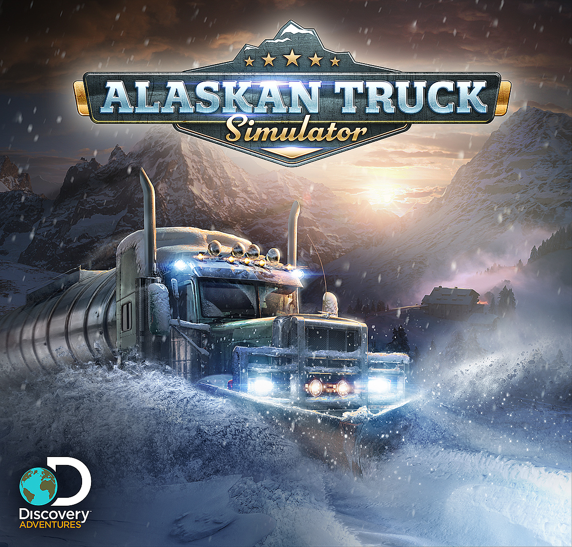 ALASKAN TRUCK SIMULATOR - Get behind the wheels of huge machines and into the boots of the Alaskan truckers. Challenge, and be challenged, by one of the most harsh and dangerous environments. See if you can survive long enough to fully experience the raw beauty of Alaska.
