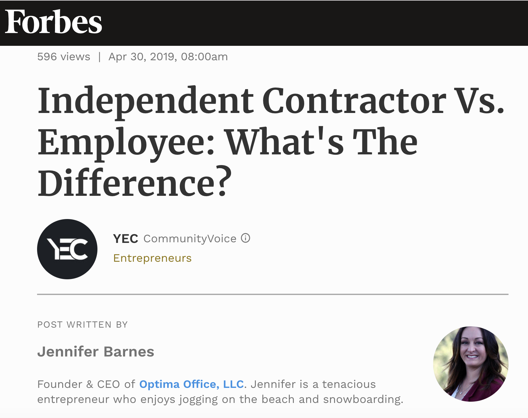 """If your business hires independent contractors on a regular basis as part of your normal business operations, then you are going to want to make sure that your worker classifications are correct.  This can seem like a daunting task once you start to look through all of the federal and state determination requirements for classification as a contractor (Form 1099-MISC) versus employee (Form W-2), and the fact that federal and state requirements can also contradict each other can make it an even larger issue."""
