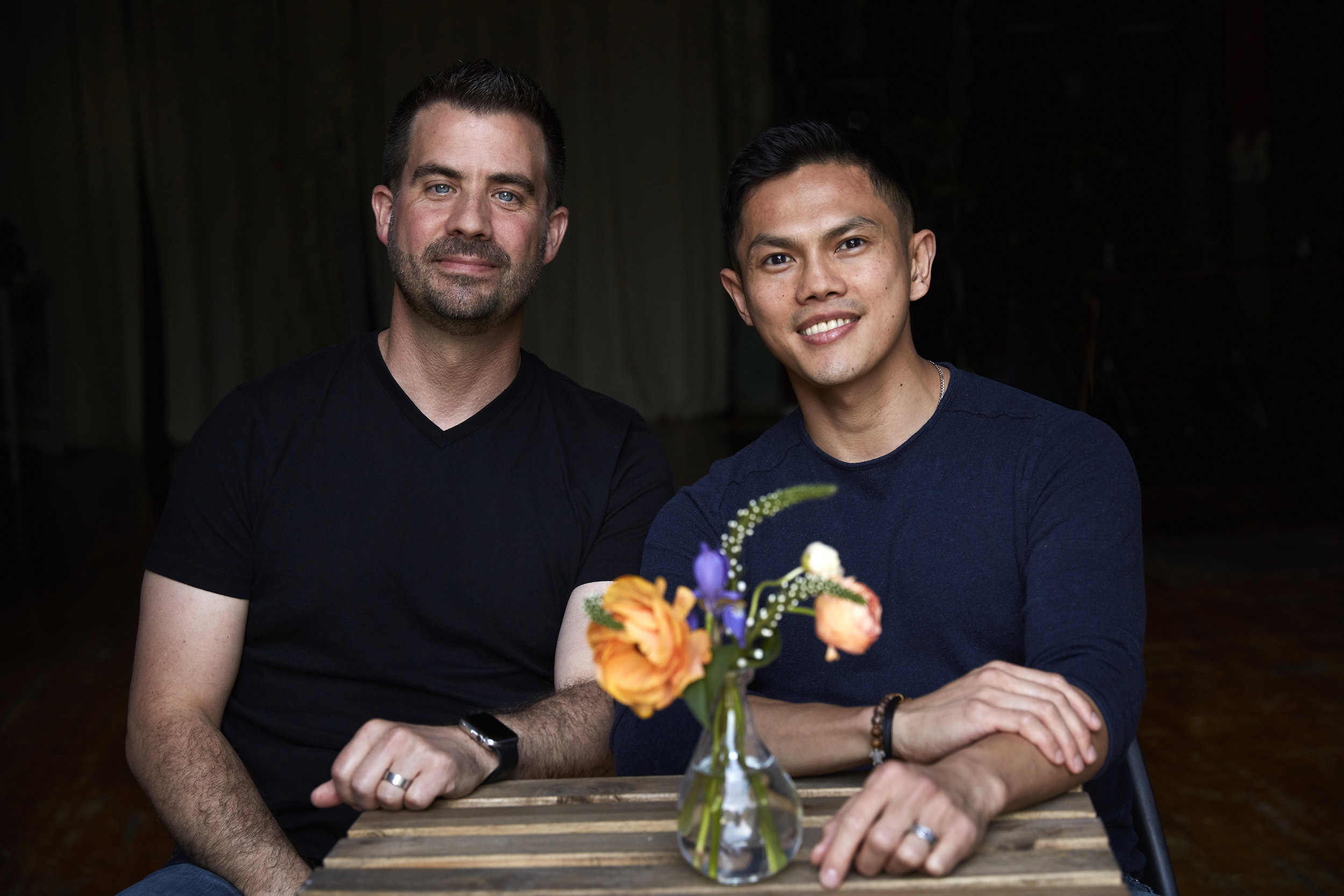 Jeff and Jeff create all natural, handmade soy candles and fragrances