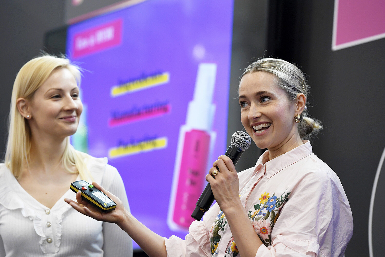 Dominika Minarovic and Elsie Rutterford, Founders, BYBI