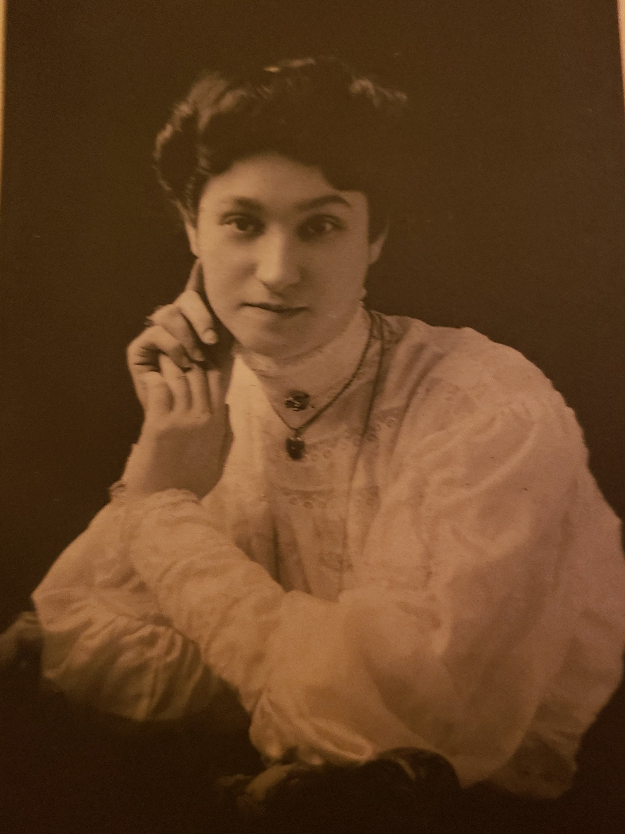 My maternal great-grandmother, Rachel, around the turn of the last century.