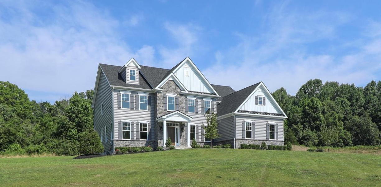 """LOT #2  is complete with our """"Solebury Craftsman"""" model! Contact us for a private showing of this new construction home that is move in ready. Impeccable craftsmanship throughout - see for yourself! 215-348-3558!"""