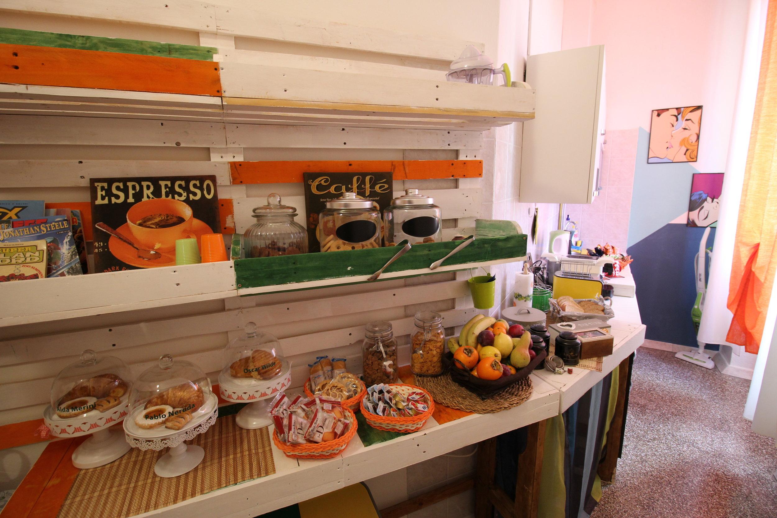 Il buffet colazione