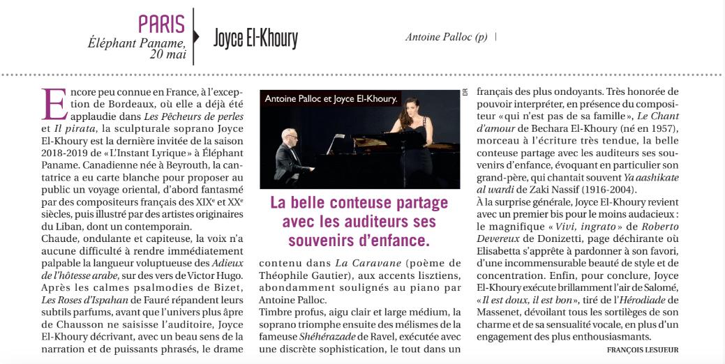 Opéra Magazine, juillet-août