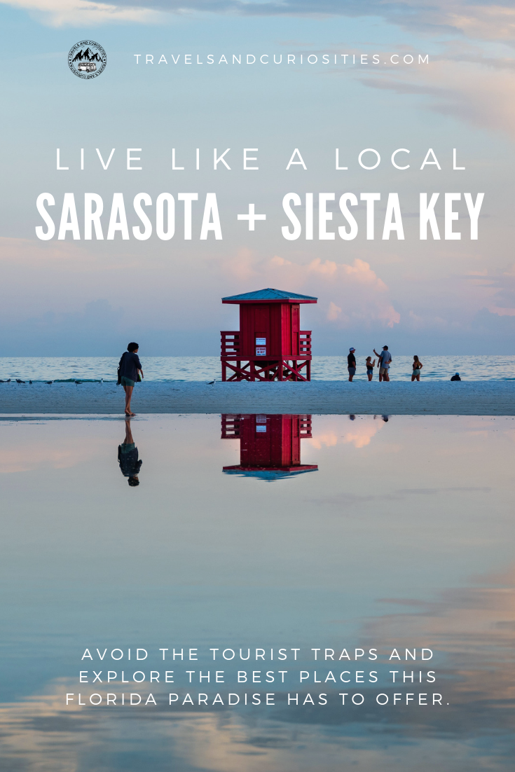 Explore Sarasota - A local's guide to visiting the famous Siesta Key Beach and much more.