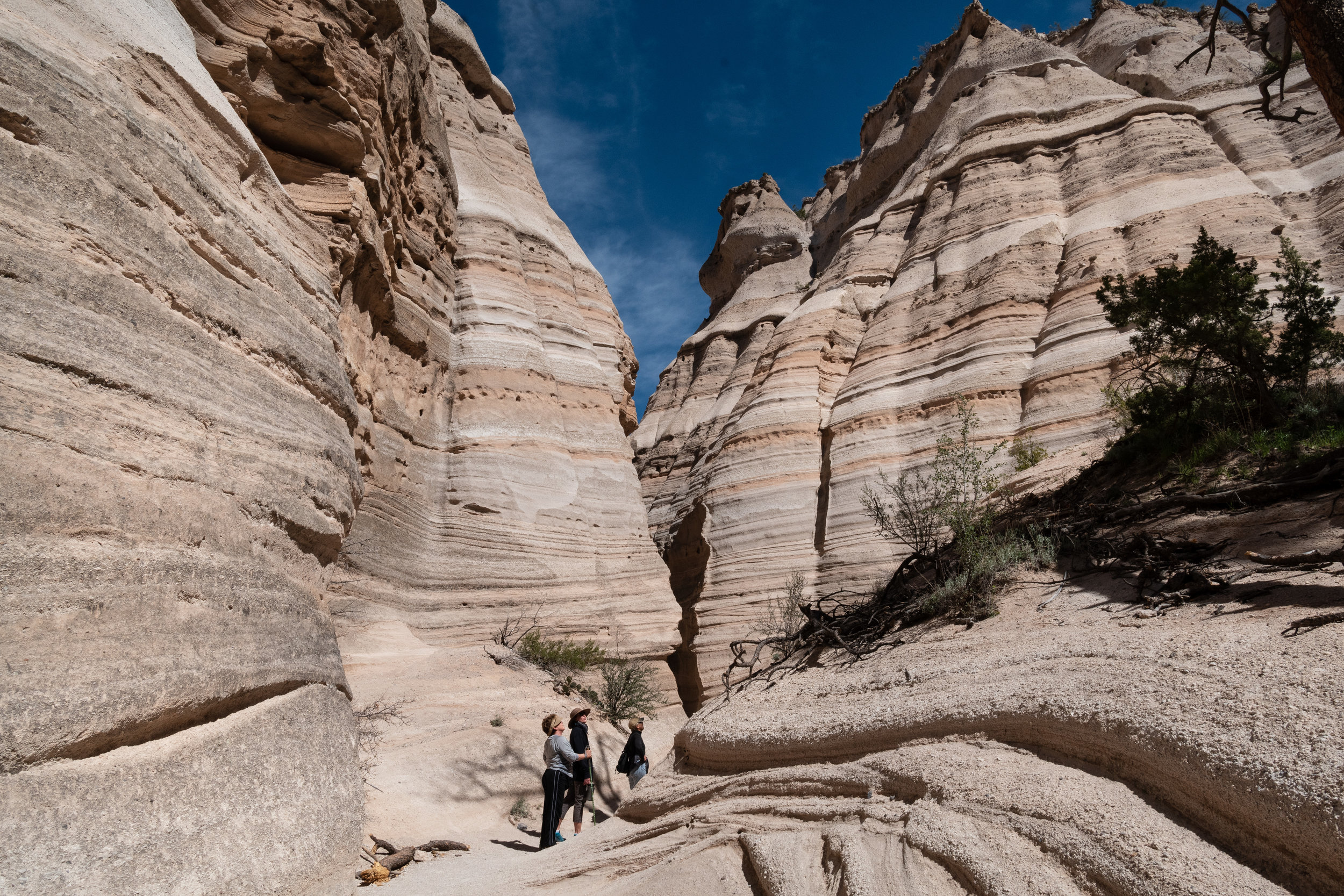 Kasha-Katuwe tent rocks - The result of volcanic eruptions that occurred six to seven million years ago, these cone-shaped rock formations are a must-see stop between Santa Fe and Albuquerque, New Mexico.
