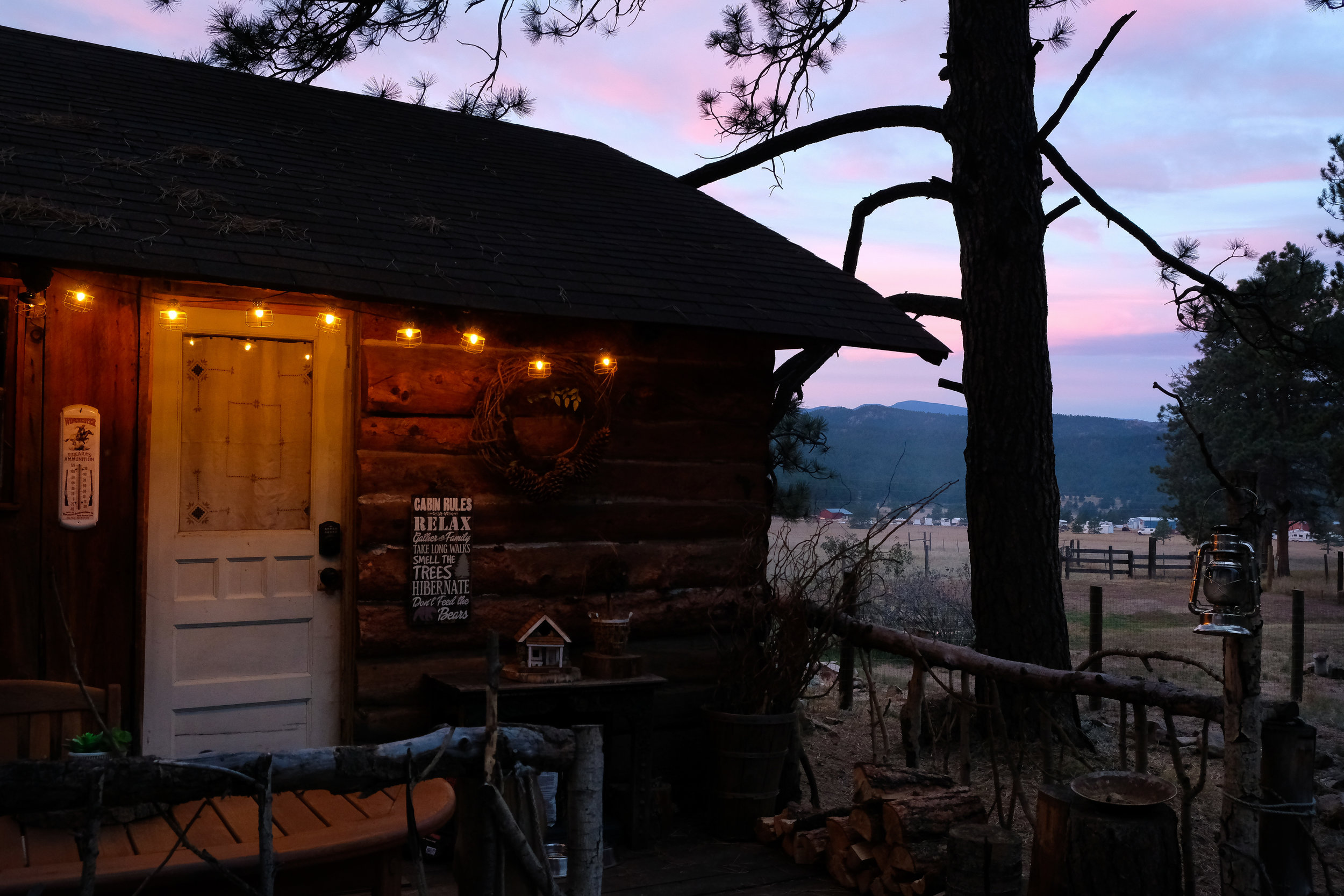 1860 Stagecoach stop - A cozy and charming cabin outside of Lake George stands as a reminder to Old Colorado living. Updated for modern comforts, the four-person outhouse still remains.