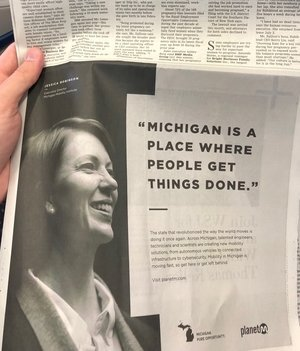 Wall Street Journal - Michigan: Pure Opportunity