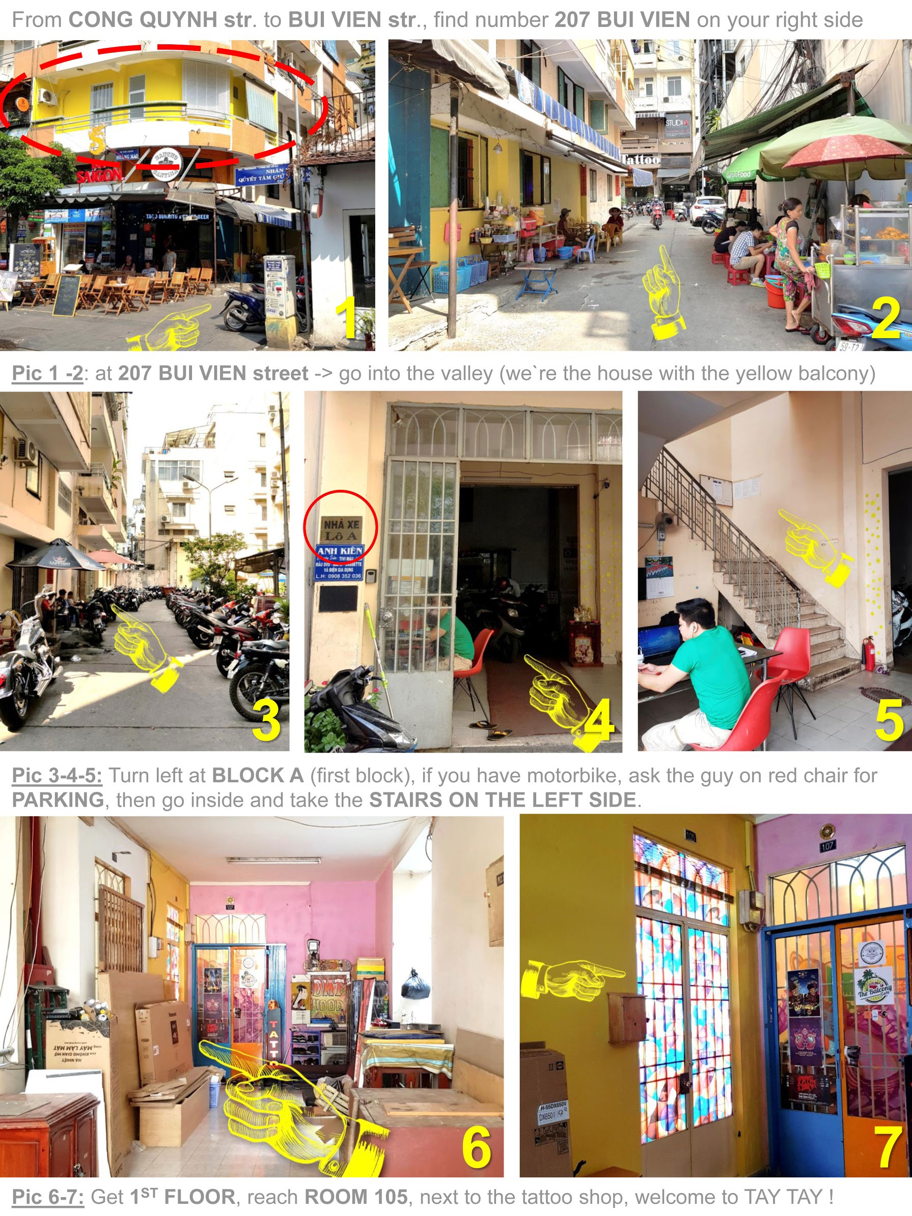 - Inside an old building of Saigon, there is a hidden workshop waiting for you.