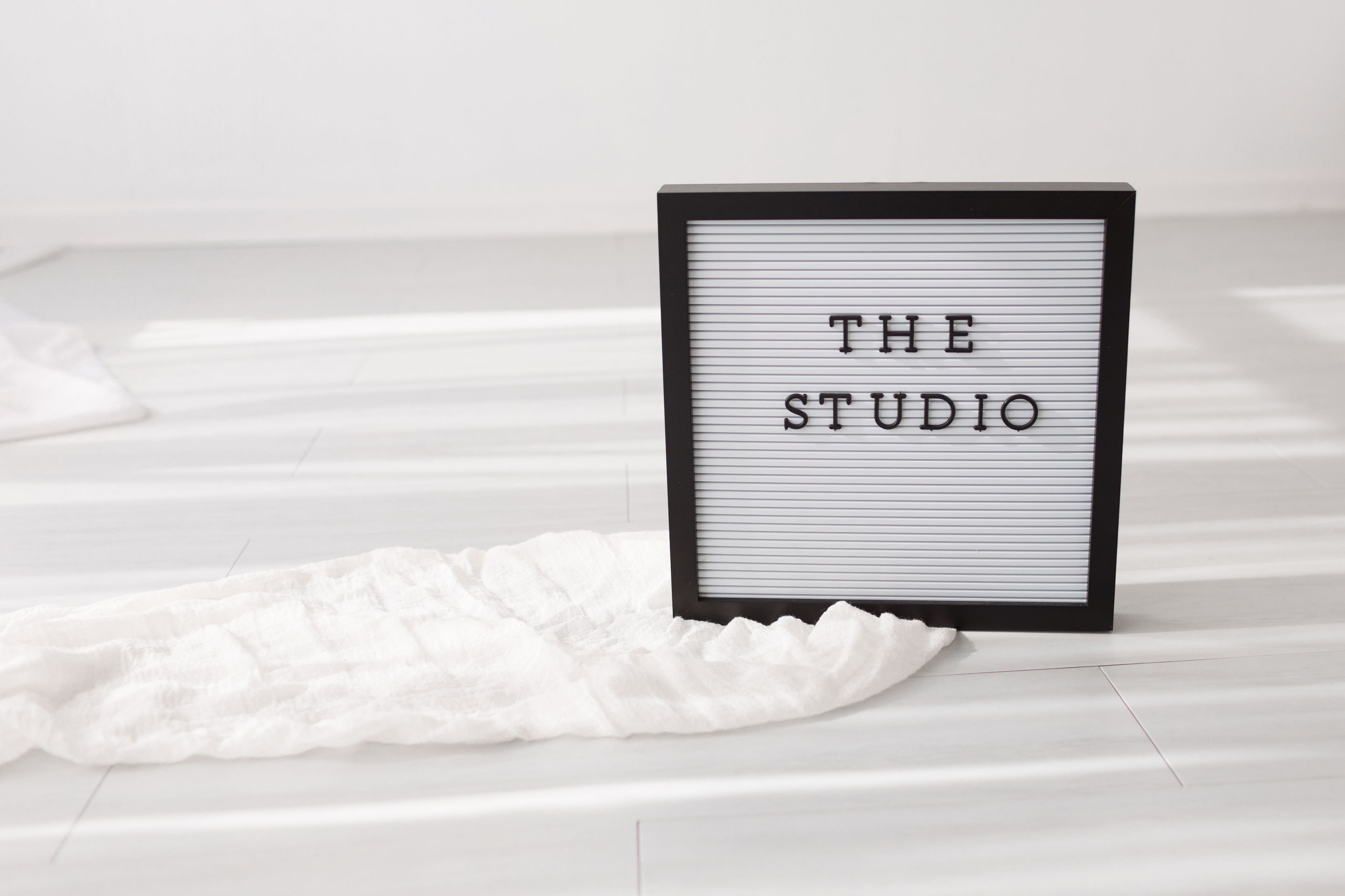 Visit our natural light studio - The perfect space for your session