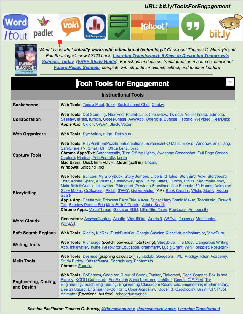 Tech Tools For Engagement