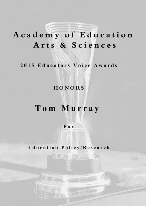 2015 Educators Voice Award