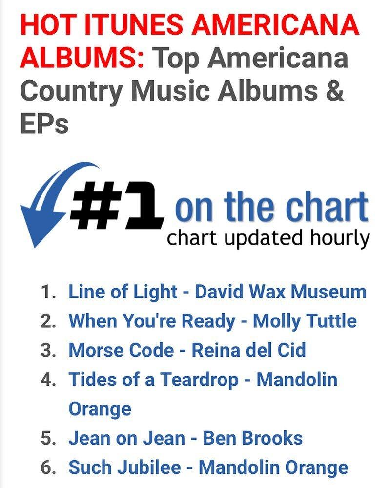 1 on iTunes Americana albums.jpg