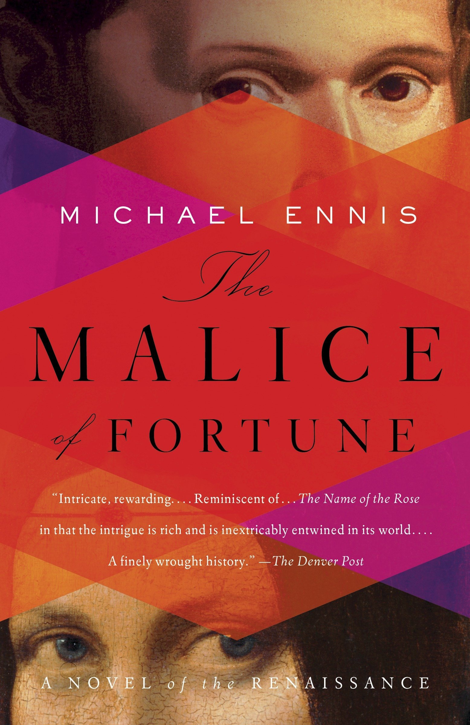 Malice of Fortune by Michael Ennis - In this historical murder mystery, Leonardo teams up with Niccolo Machiavelli to hunt down a serial killer. It's a thrilling, well-researched read that brings Renaissance Italy alive. (Bonus: if you're interested in the Borgia family, this one is especially for you).