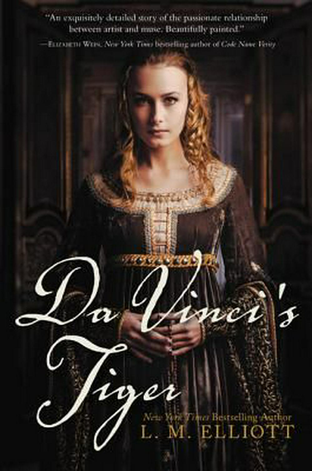 Da Vinci's Tiger by L.M. Elliott - This historical novel about Ginevra de'Benci (you can see her portrait in the National Gallery of Art in Washington DC) is beautifully written, especially for a younger audience. It has a strong female lead that is sure to inspire and — bonus! — it's out in paperback this fall!