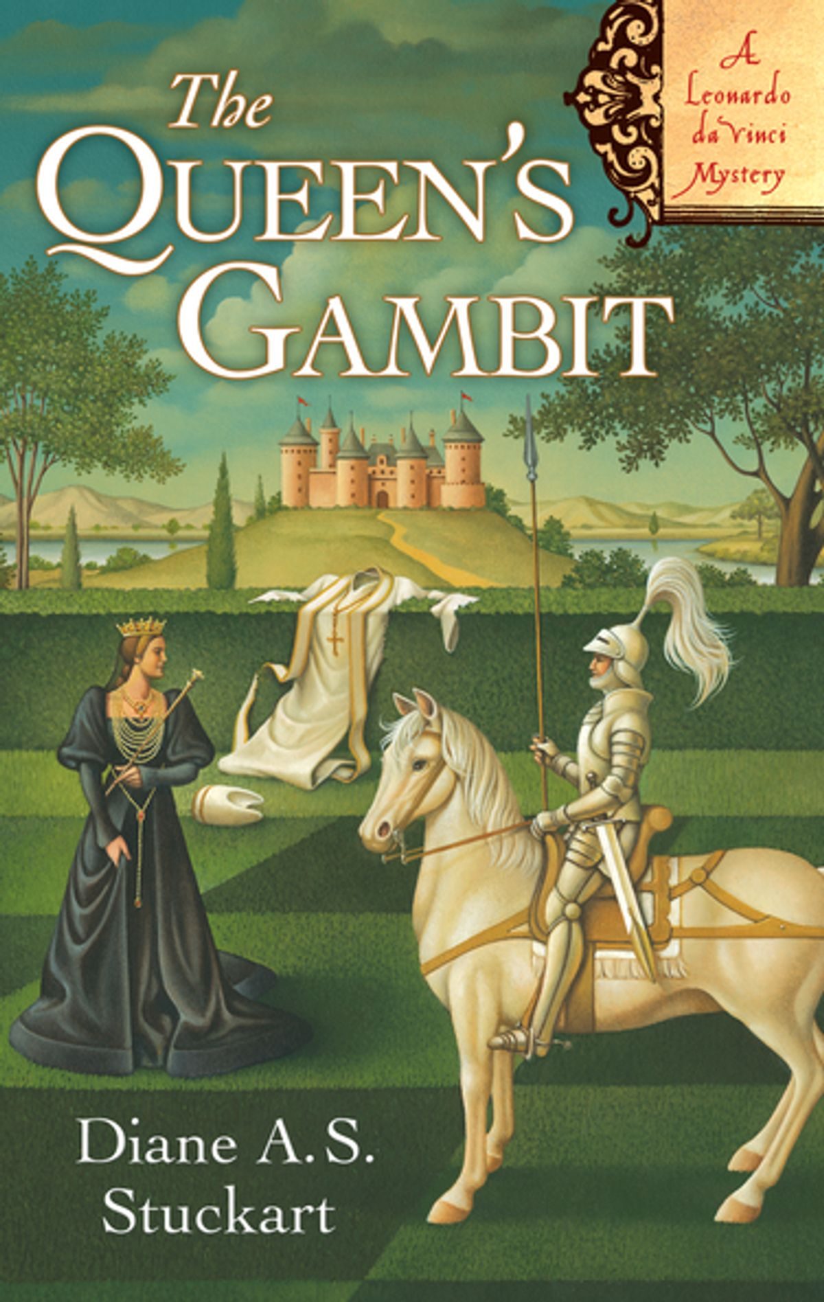 """The Queen's Gambit by Diane A.S. Stuckart - This is another murder mystery (what is it about Leonardo that inspires murder plots?) set during Leonardo's years up in Milan serving Duke Sforza. It's a great story with lots of plot twists and was a particularly fun version of """"Leonardo as detective,"""" which seems to be a running theme."""