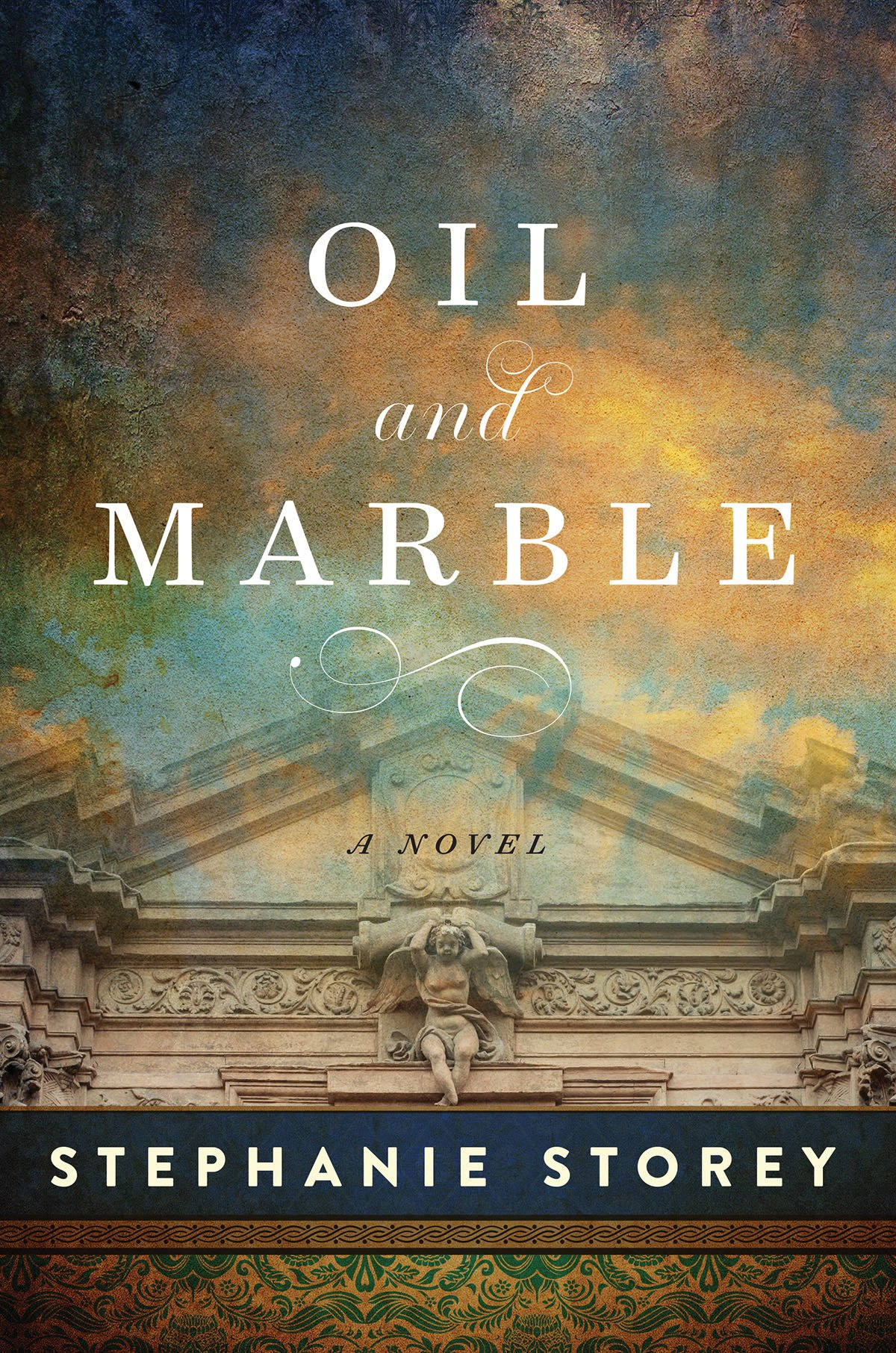 """Oil and Marble by Stephanie Storey - Leonardo v. Michelangelo. Mona Lisa v. David. Hey, The New York Times called it """"tremendously entertaining,"""" and it's now out in 6 languages, so it might be worth adding to your reading list. It's out in paperback on June 5, 2018! (It would be disingenuous not to mention my own novel, wouldn't it?)"""