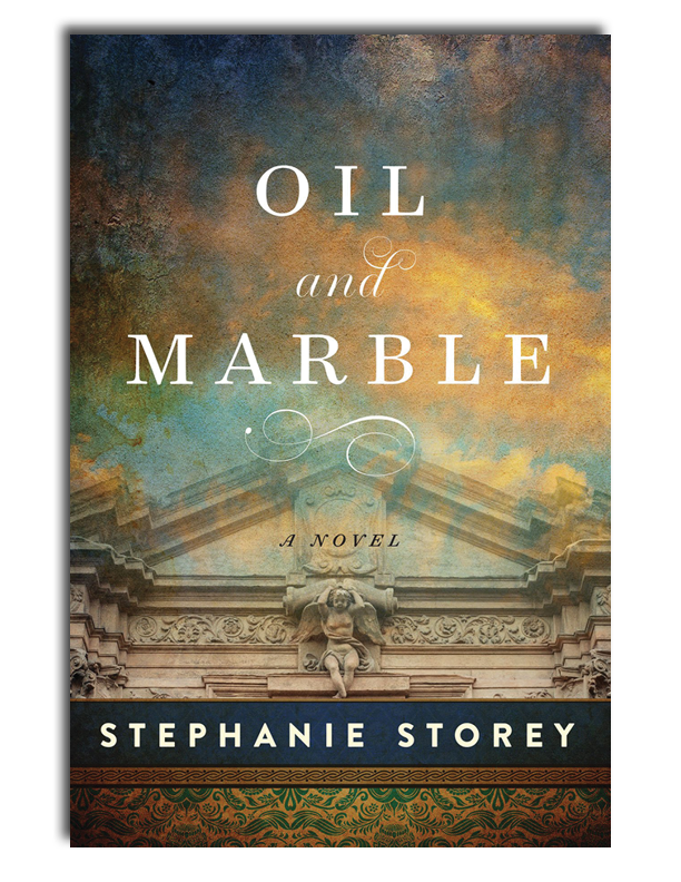 Oil and Marble is Out in Paperback! - Available in hardcover, ebook, and audio book.