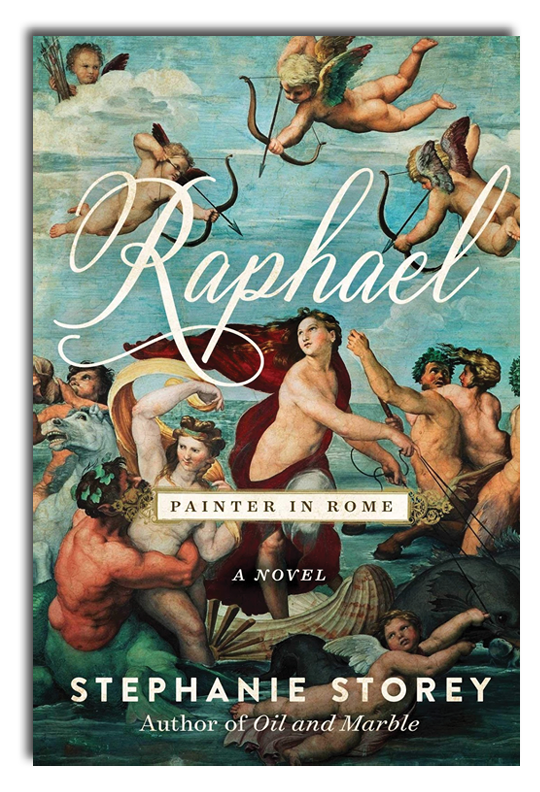 Raphael, Painter in Rome - A Novel Out April 2020 in time for the 500th anniversary of the artist's death