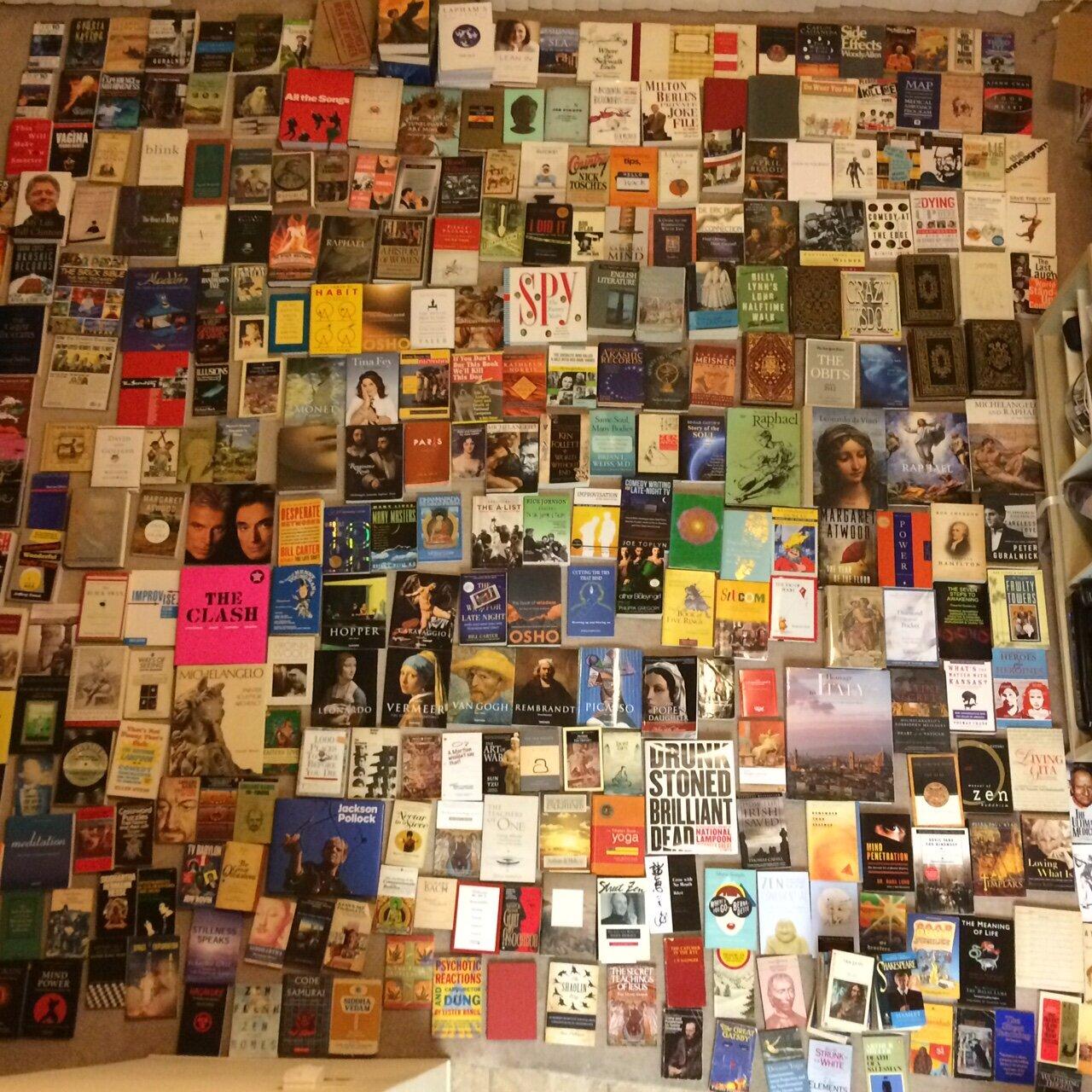 Floor of Books