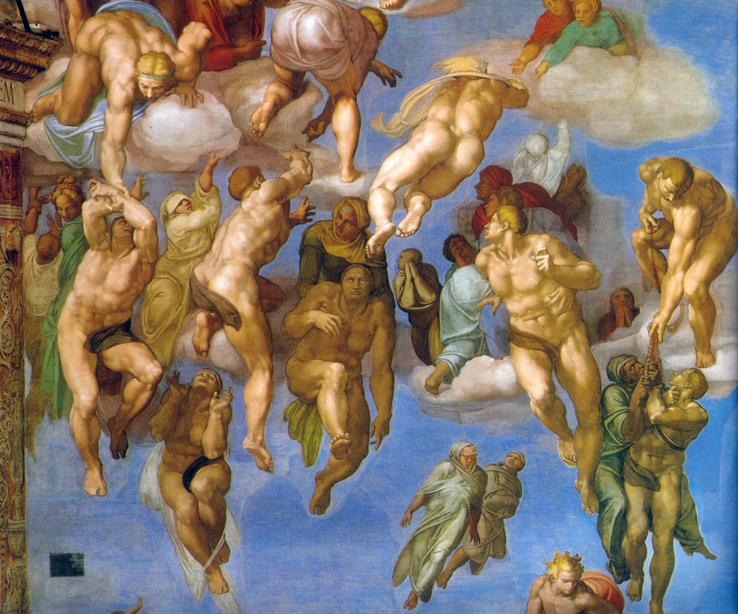 Last Judgement Detail michelangelo.jpg