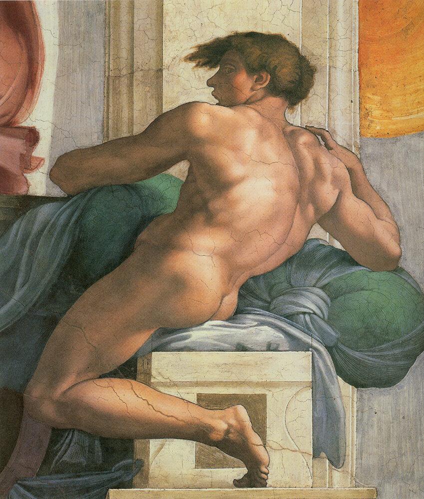 Ignudi on Sistine.jpg