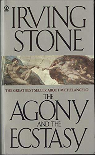 The Agony and the Ecstasy by Irving Stone - Where else would I begin other than with the book that started my obsession with Michelangelo and may very well ignite yours!