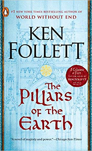 The Pillars of the Earth by Ken Follett - This epic is about the building of a great medieval cathedral… if you want to dive into the world of medieval architecture, you can't beat this classic. If you haven't read it yet, what are you waiting for?