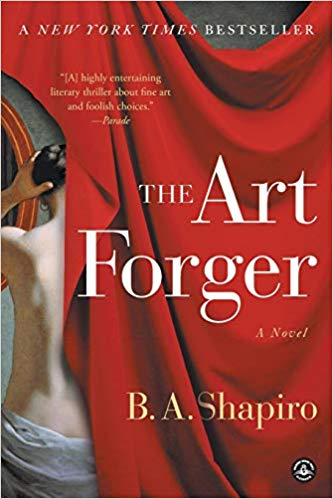 The Art Forger by B.A. Shapiro - If you love art, I highly recommend reading all things B.A. Shapiro (including The Muralist and The Collector's Apprentice), but this one happens to be my favorite—about a woman who forges one of the world's most famous Degas paintings…