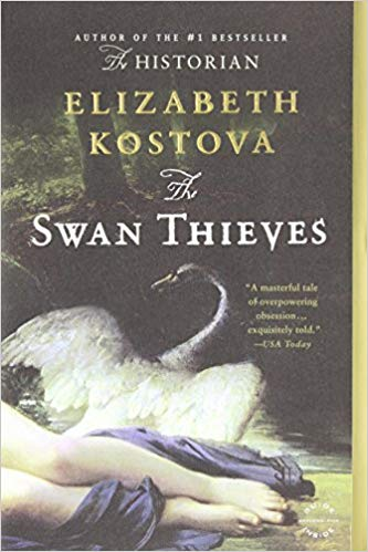 The Swan Thieves by Elizabeth Kostova - From the author of The Historian, comes this brilliant and brooding novel about obsession and the power of art… This one stuck in my imagination for YEARS after reading it…