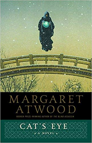 Cat's Eye by Margaret Atwood - I've been an obsessive Atwood fan for 25 years, so of course Cat's Eye has to make my list… It's about a fictional artist (not a real one from history), but this exquisite novel explores how art, personal history, and psychology intersect in the most fascinating way…