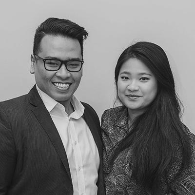 Pedrico & Claudia Siagian  Pastoral Leaders