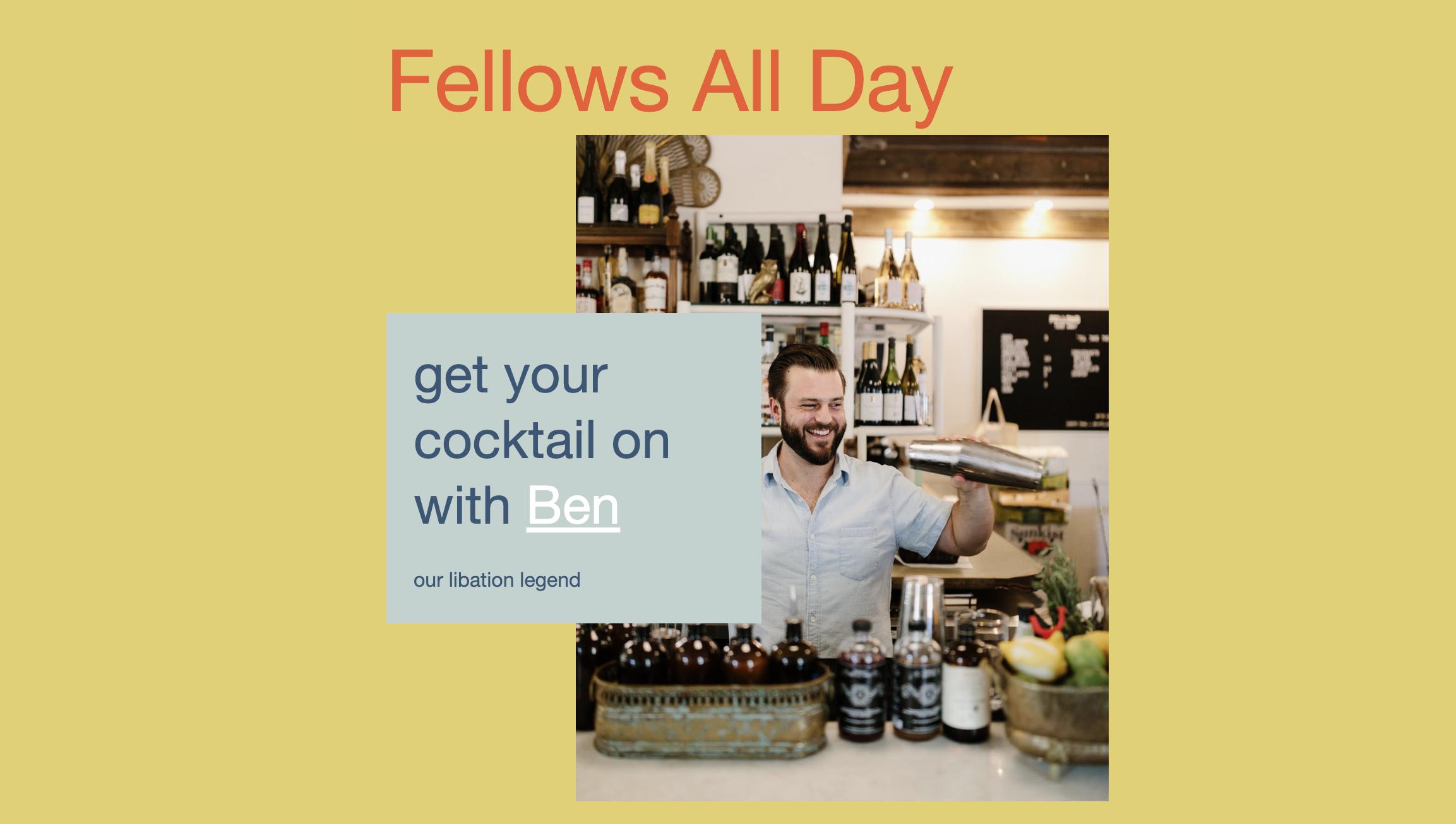 Cocktai_Commons_Ben_Richardson_Fellows Cafe