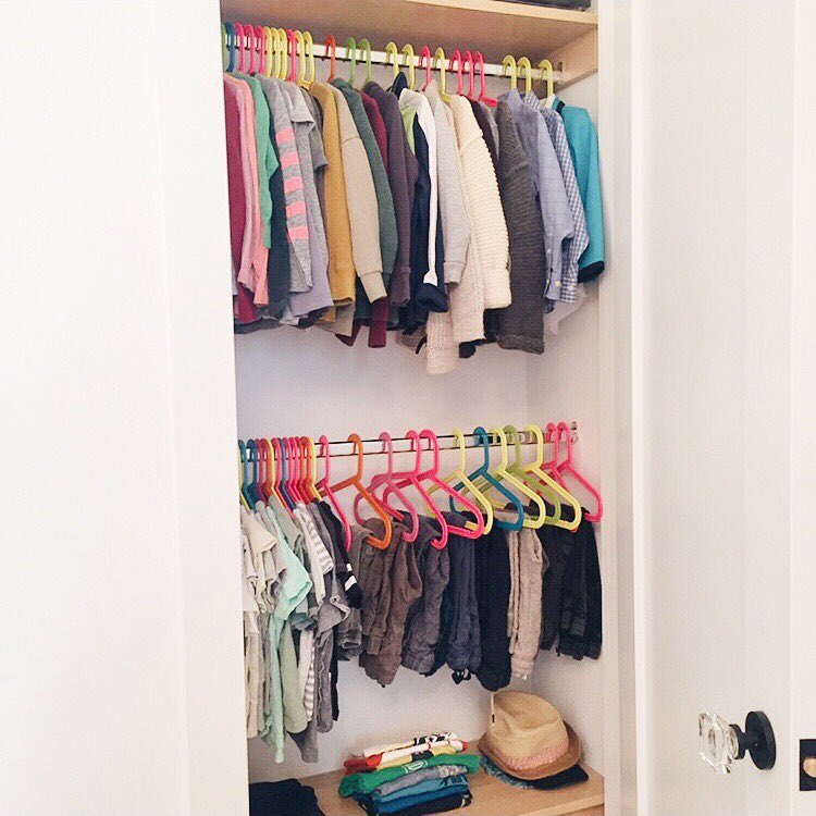 Kids Clothing Closet