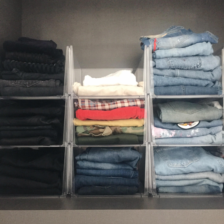 Closet & Jean Organization