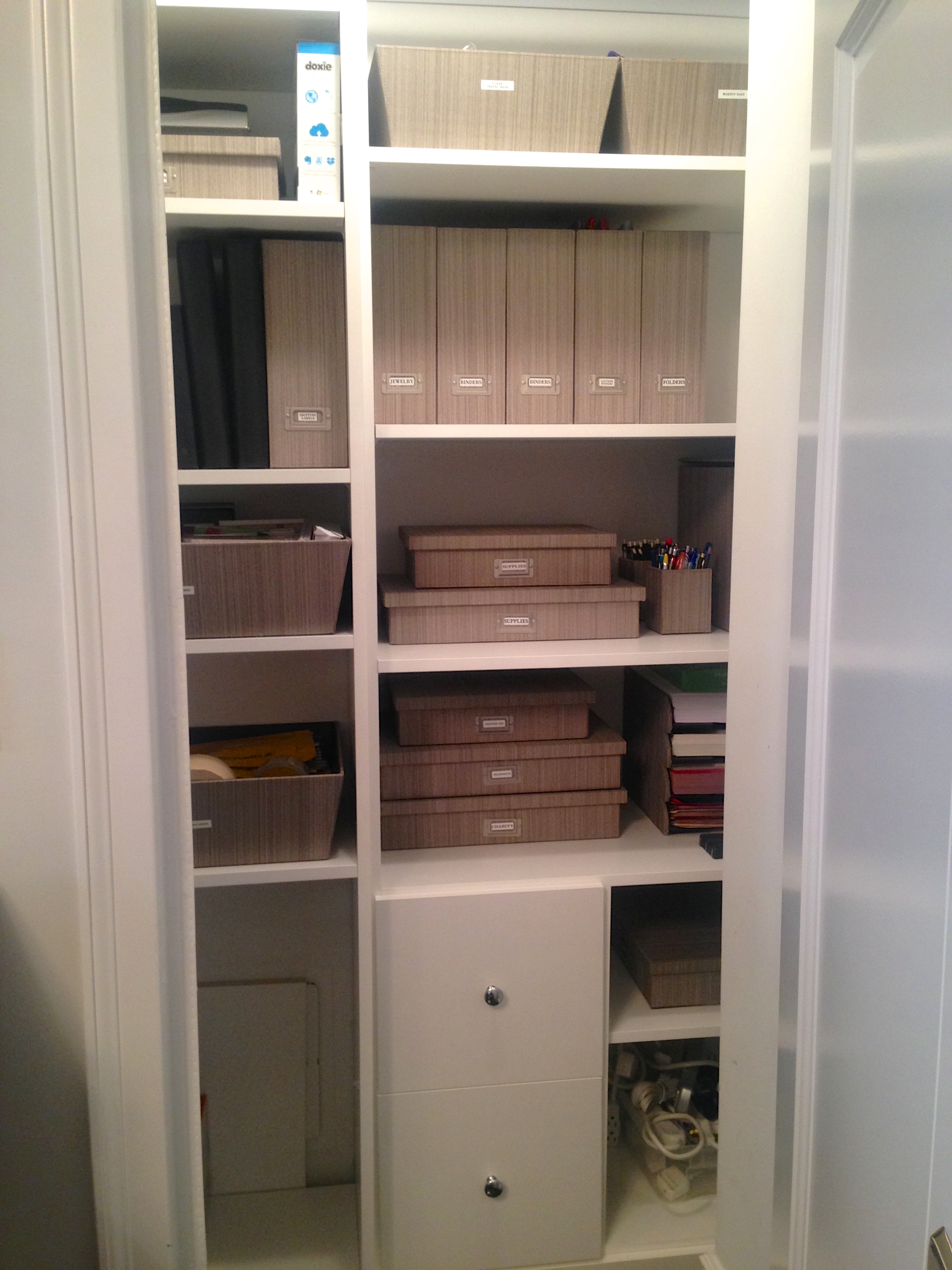 Office Supply Closet