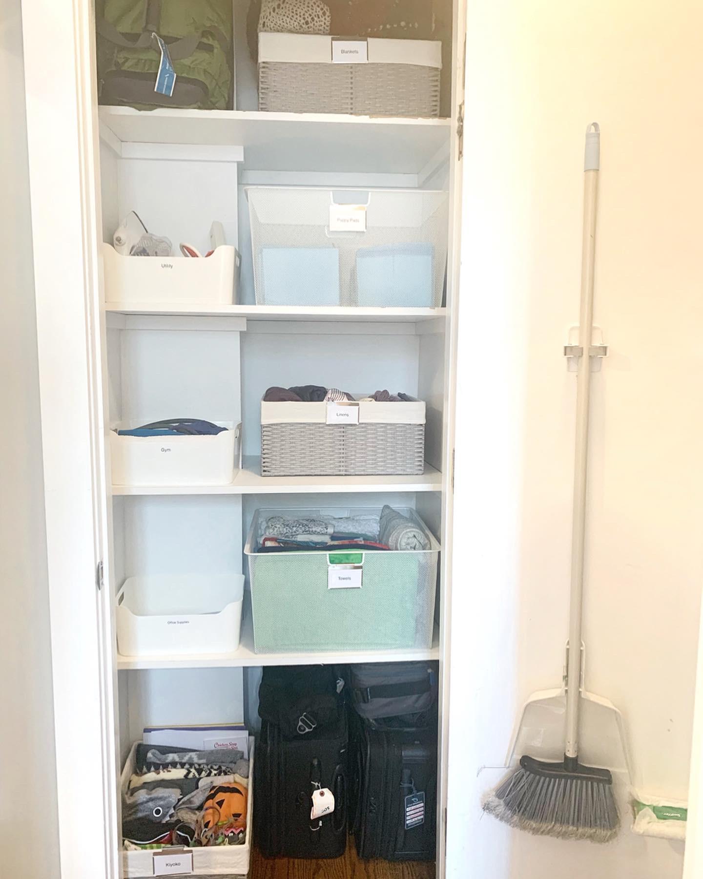 Linen & Utility Closet