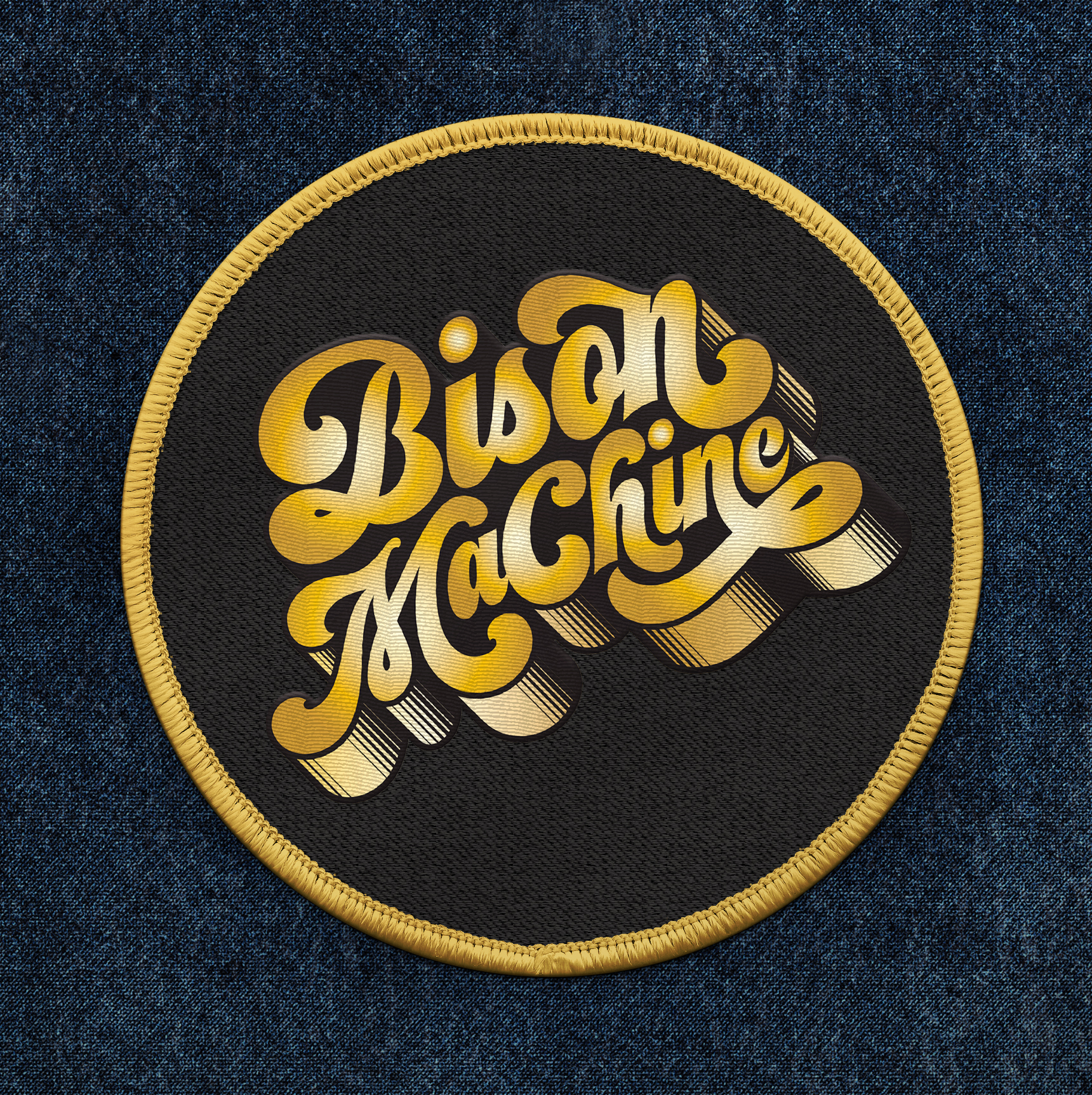 Bison Machine Patch - Gold.jpg