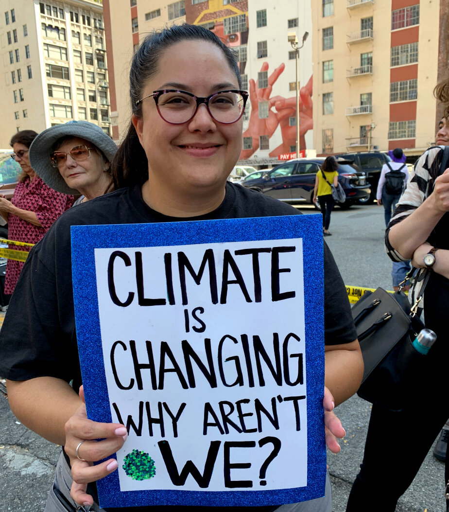 """""""Climate is Changing. Why Aren't We?"""" A very good question."""