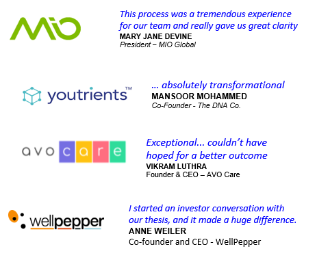 a few kind words from some very talented folks -