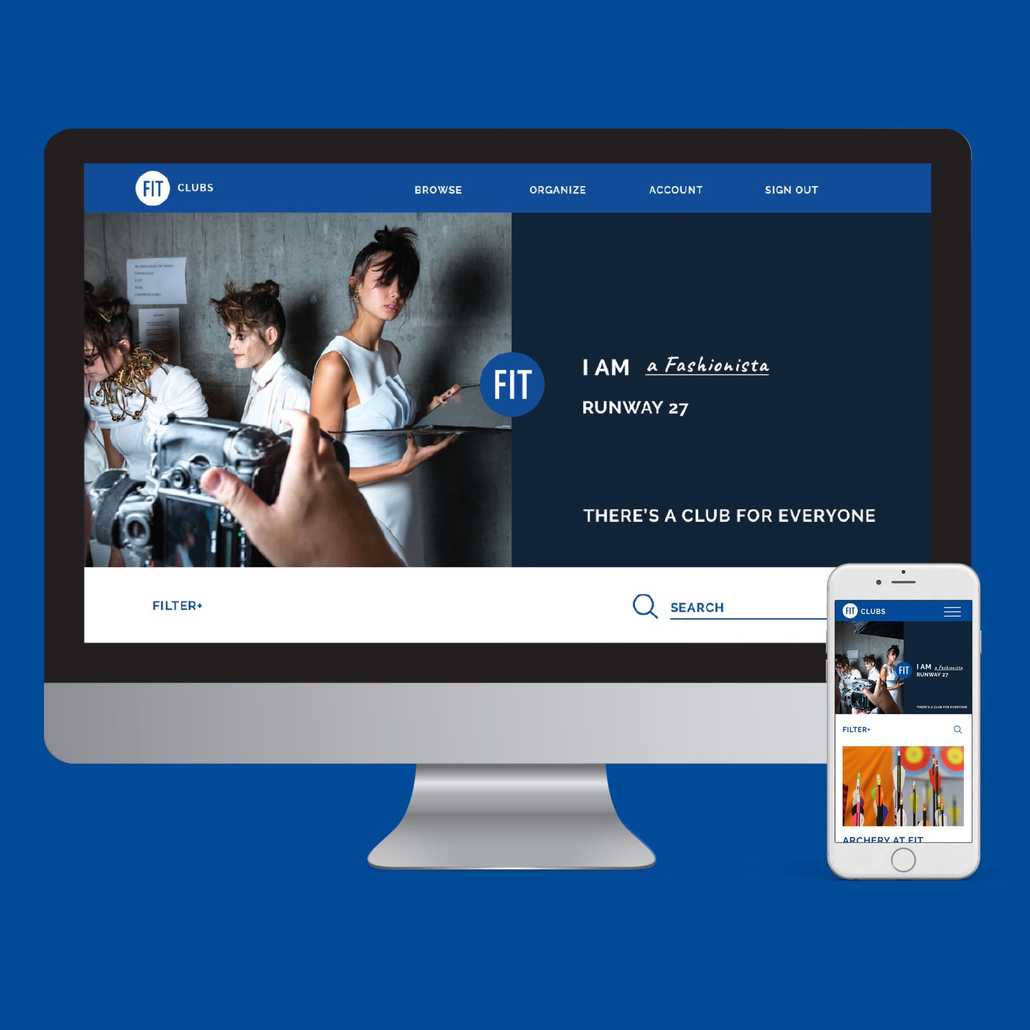 FIT Clubs  Responsive Web