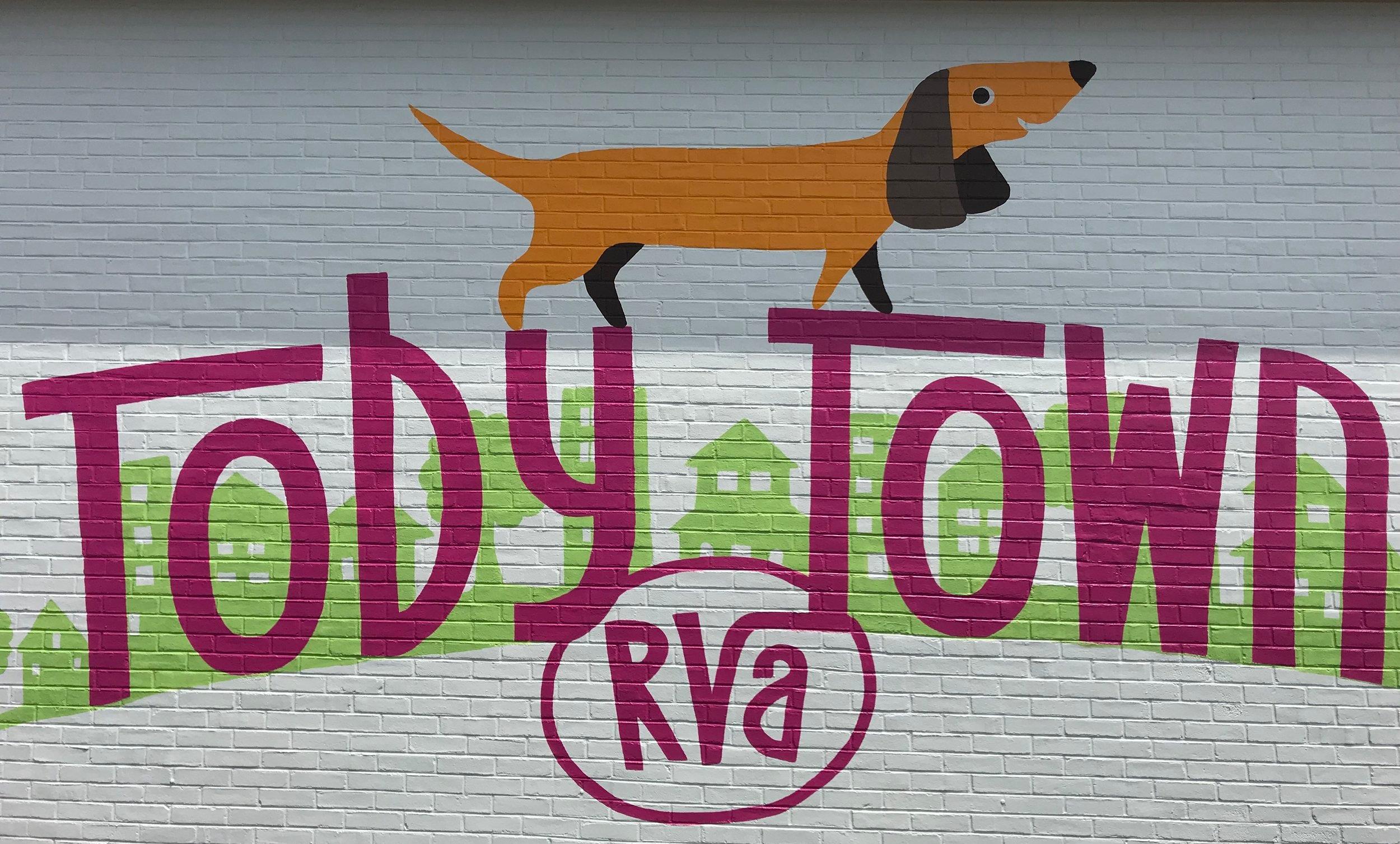 TobyTownRVA_RichmondMural