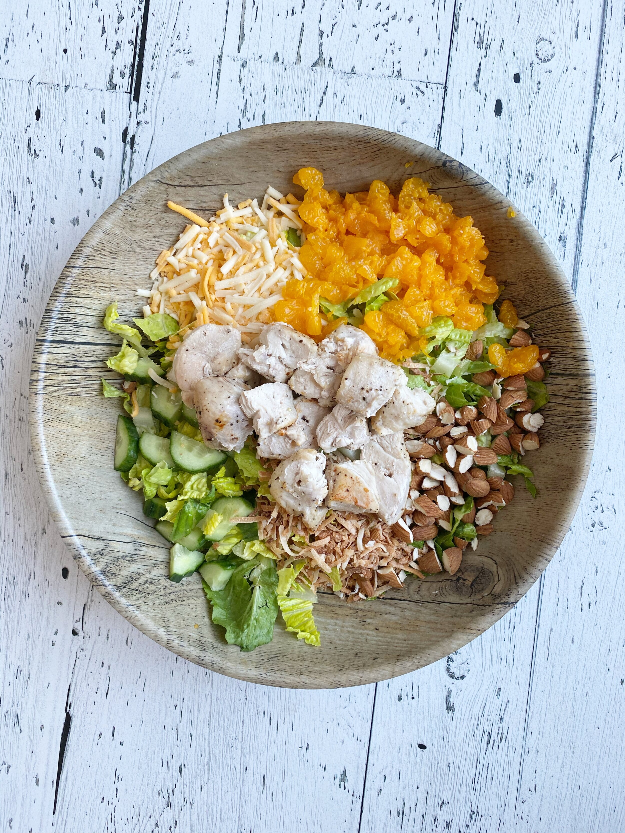 Tropical Chicken Salad Stamps Stretchy Pants