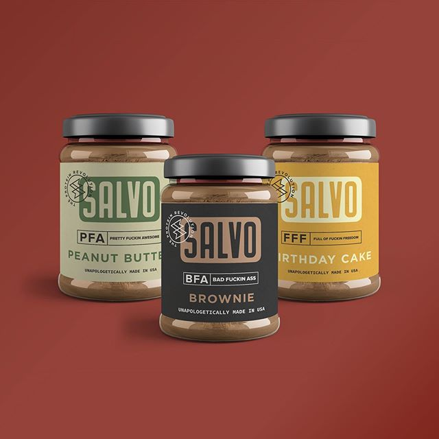 Packaging design concepts for our Client, Salvo. #packagingdesign #consumerpackagedgoods #brandidentity #labeldesign #jamjar #jamjardesign #logodesign